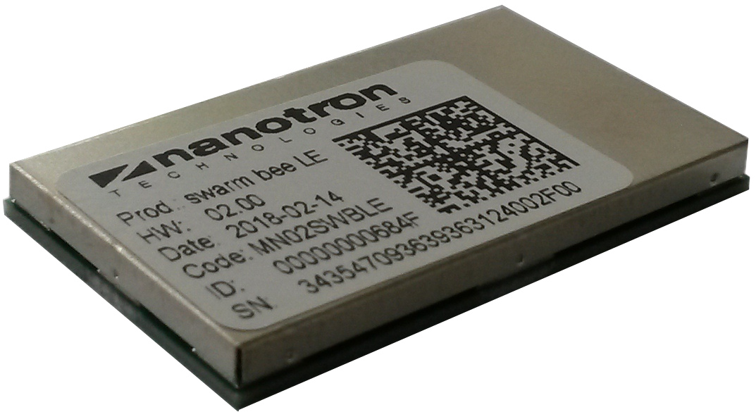 nanotron's swarm bee smart RF sensor module for proximity detection and positioning