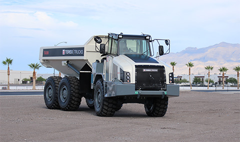 The upgraded TA300 boasts improvements in fuel efficiency, performance, productivity and operator comfort.