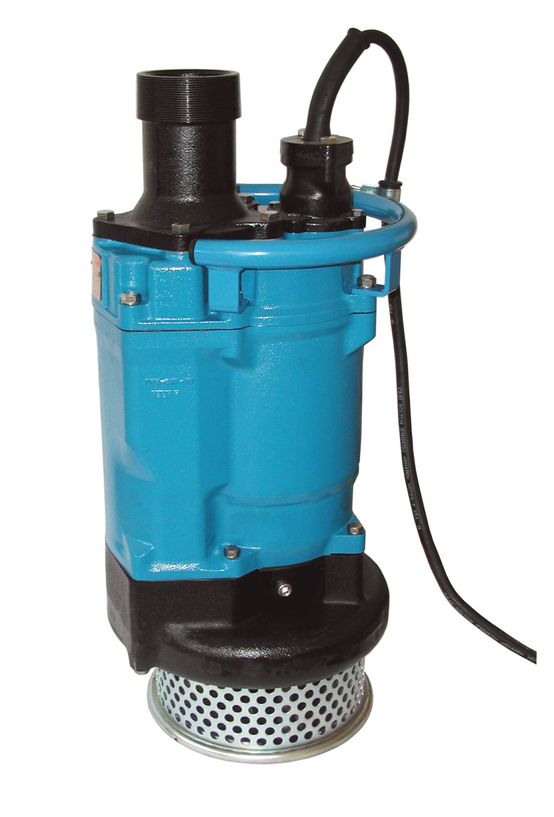 Powerful submersible pumps that can also run without being submersed: Thanks to the casing made of cast iron GG20, silicon carbide and other hard metals, Tsurumi's KTZ ensures long service lives