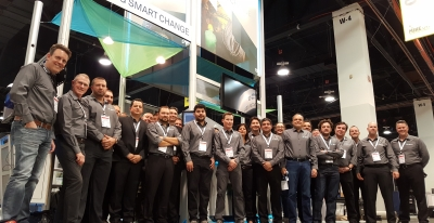 Smart change starts at Booth 4133, till Wednesday, at MINExpo. Drop in and visit the Hexagon Mining team.