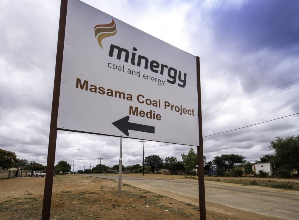 Minergy - Masama Coal project Botswana