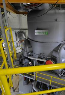LOESCHE is involved in the extension of the largest cement works in Nigeria with two vertical roller mills