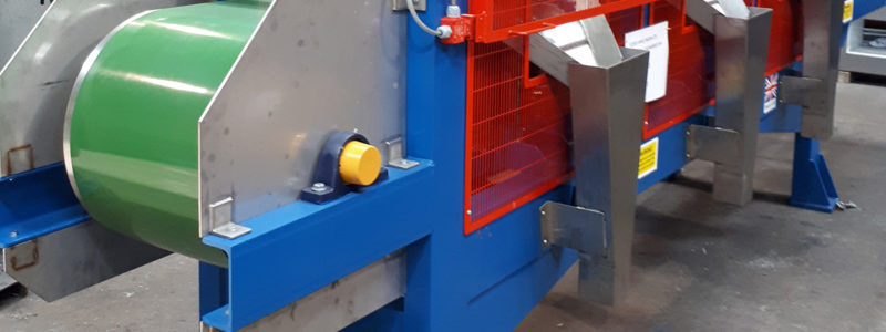 Disc Magnetic Separator in the final stages of manufacture
