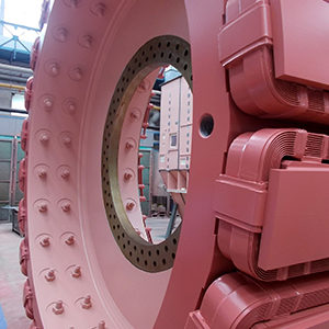 OLKO-Maschinentechnik GmbH has ordered the electrical equipment for two Blair Multi-Rope machines (BMR) from Siemens. The hoisting winders are being used in the Woodsmith Mine run by Sirius Minerals, a world leading producer of polyhalite, a unique multi-nutrient fertilizer in North Yorkshire, UK.