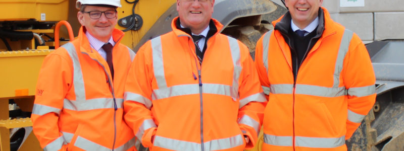 Michael Woodward - Production Director at Day Aggregates, Peter Andrew - Group Director at Hills Quarry Products and Jonathan Day - Merchant Sales Director at Day Aggregates.