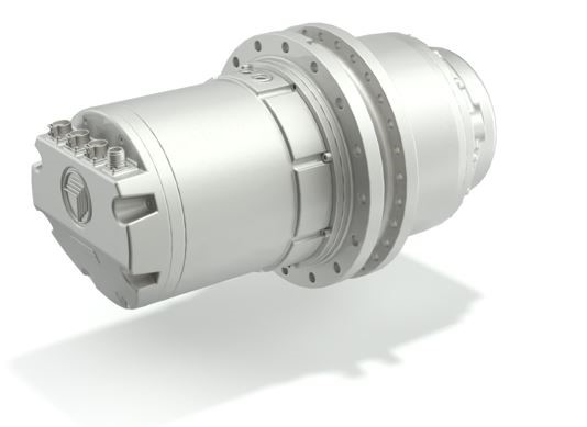 The efficient 709CE planetary drives from Bonfiglioli are coupled with an electrical motor with high power density and are specially designed for high-voltage hybrid drive systems