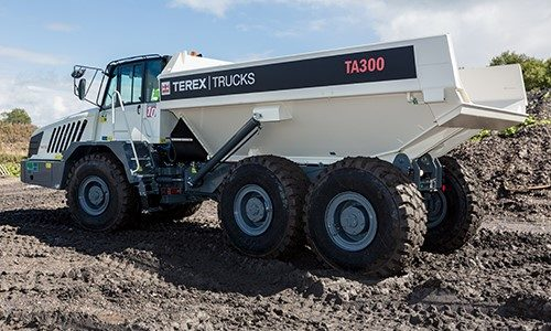 The Terex Trucks TA300 articulated hauler is proving popular with German customers