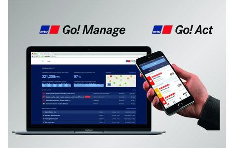 The digital tools MTU Go!Act and MTU Go!Manage provide analysis of engines up to fleet management. MTU Go!Act for smartphones alerts customers to any faults that may have arisen in connected systems and enables them to identify and eliminate the fault quickly. MTU Go!Manage is a platform that links up a customer's system to the data base and significantly improves communication with MTU partners, distributors and the Customer Care Center.