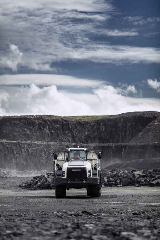 Terex Trucks articulated haulers are high-quality machines that come at a low total cost of ownership.