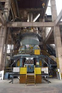 A similar LOESCHE mill type LM 43.4 D in Kotputli, India