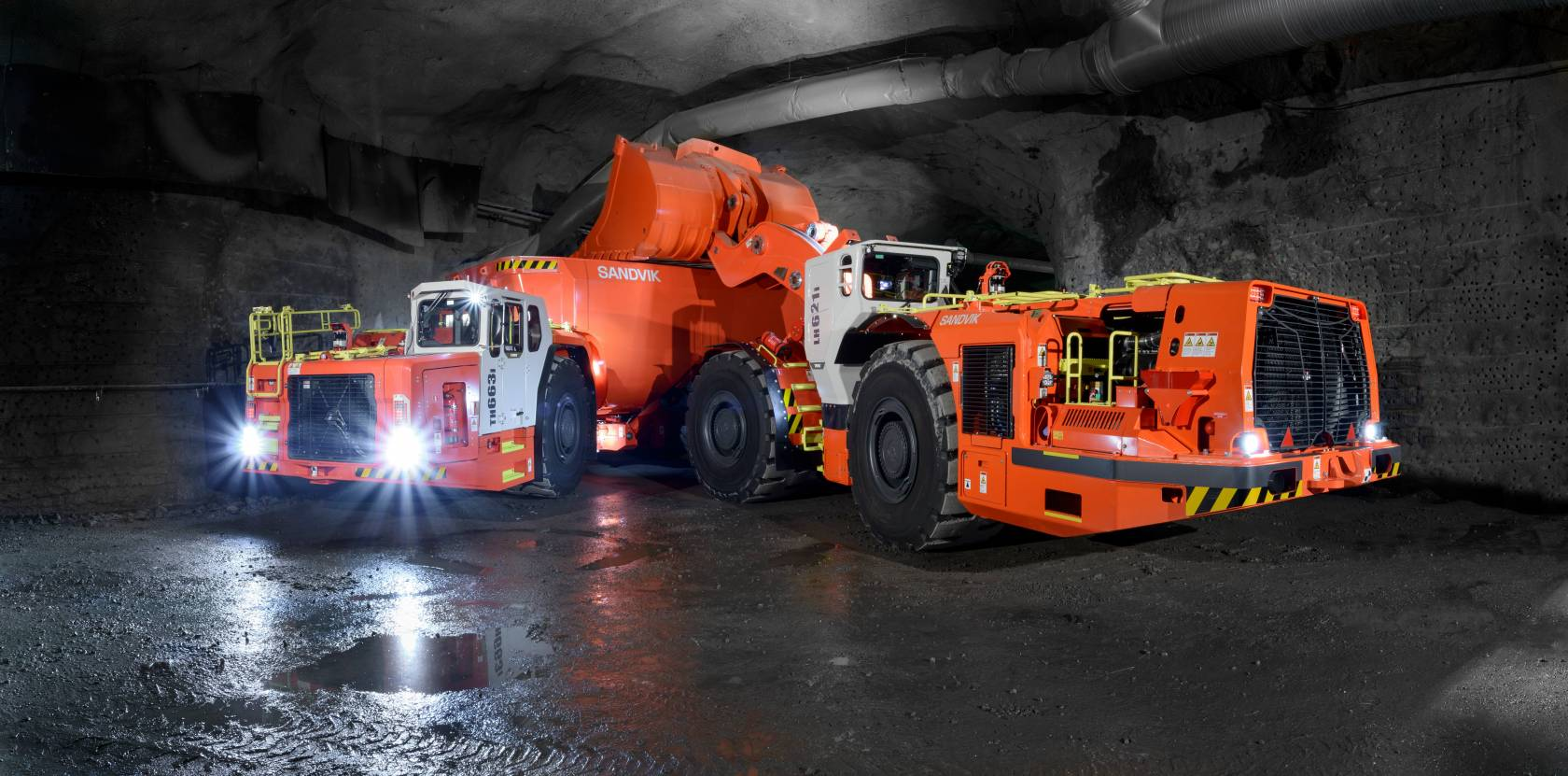 A NEW ERA FOR THE TORO™ LOADERS AND TRUCKS FROM SANDVIK