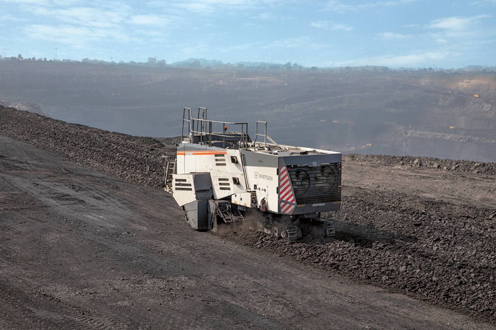 Wirtgen Surface Miner Technology Maximizes Output at Indian Coal Mine